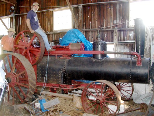 Restoration of a 1902 Frick Traction Engine | The