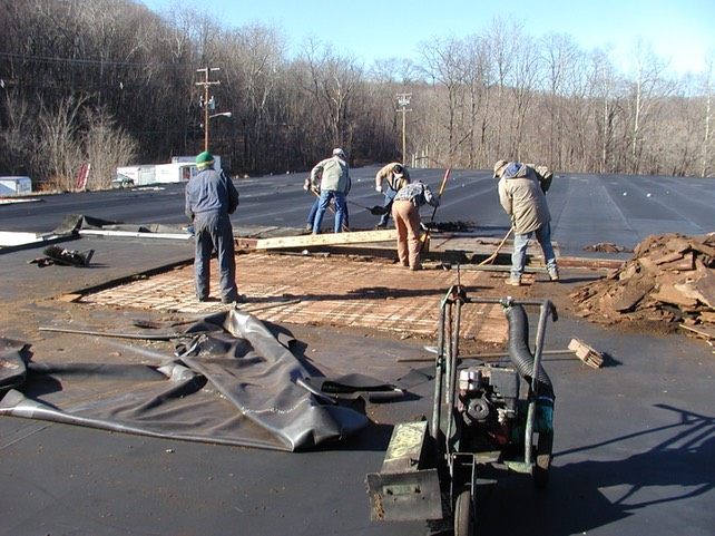One Size Doesn T Fit All For Roof Recoat Coatingspro. Roofing Crews Wanted  ...